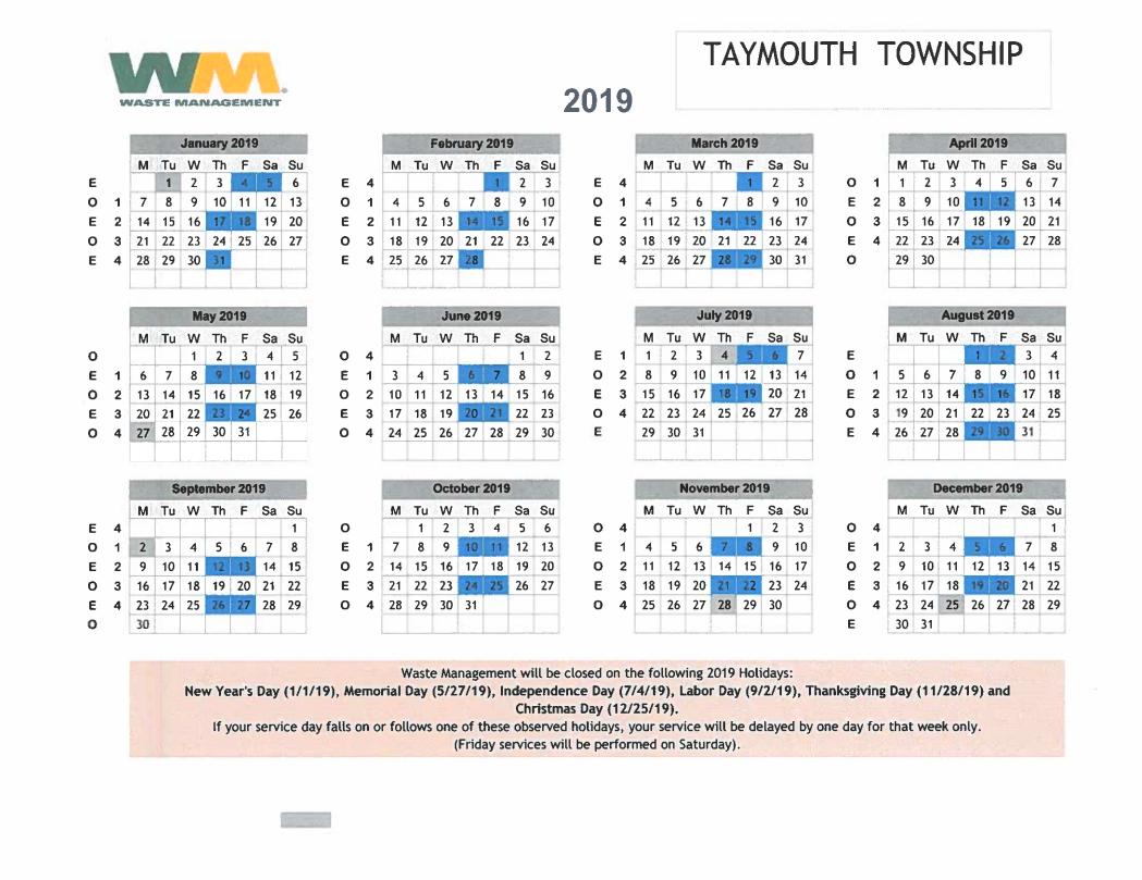 Taymouth Township – Saginaw County Michigan